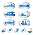 Travel labels logos and stickers vector