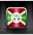 Burundi icon flag national travel icon country vector