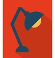 Office lamp vector