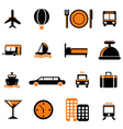 Travel service icon vector