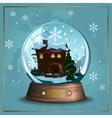 Snow ball vector