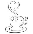 Hot cup vector