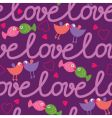 Love seamless pattern vector