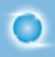 Design blue glow circle abstract background vector