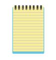 Notepad notebook vector