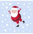 Santa claus for christmas card vector