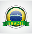 Brazil badge vector