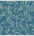 Vintage blue floral background vector