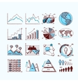 Sketch business diagram vector