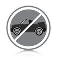 Car ban vector