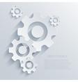 Creative mechanism icon background eps 10 vector