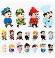 Cartoon characters vector
