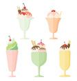 Icon ice cream vector