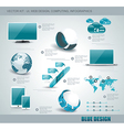 Set of web icons and business and abstract symbols vector