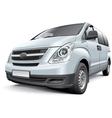 Korean light commercial vehicle vector