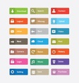 Buttons and icons vector