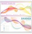Banner design template vector