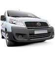 Italian light commercial vehicle vector