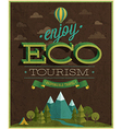 Eco tourism vector