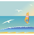 Summer surf vector