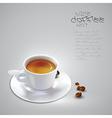 Coffee cup design vector