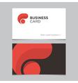 Business card 01 vector