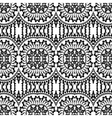 Seamless geometric pattern in ethnic style vector