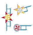 Film symbols vector