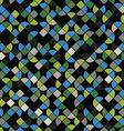 Seamless mosaic pattern design vector
