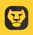Icon leon vector