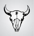 Cow skull vector