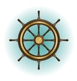 Boat wheel vector