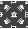 Classical building pattern vector