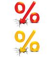 Discount percent vector