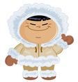 Eskimo kid vector