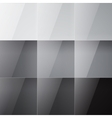 Gray shiny squares abstract background vector
