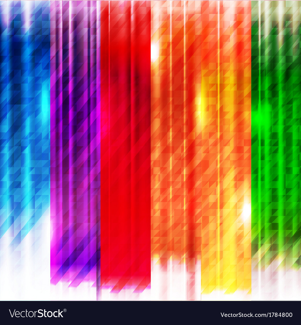 Abstract colorful lines background vector | Price: 1 Credit (USD $1)