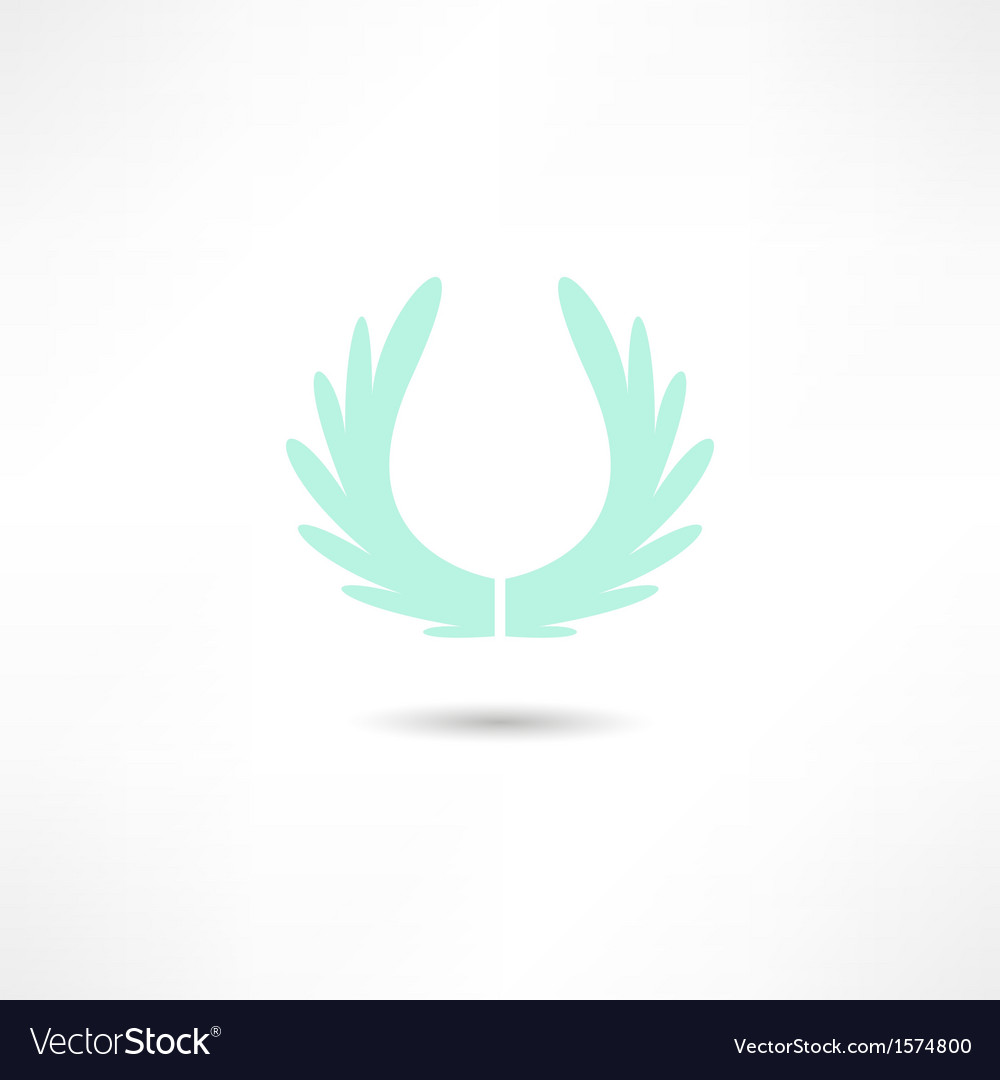 Wings icon vector   Price: 1 Credit (USD $1)