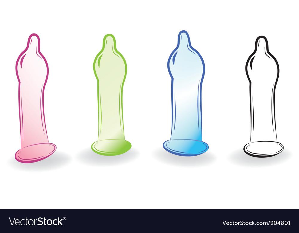 Condoms sketch vector | Price: 1 Credit (USD $1)