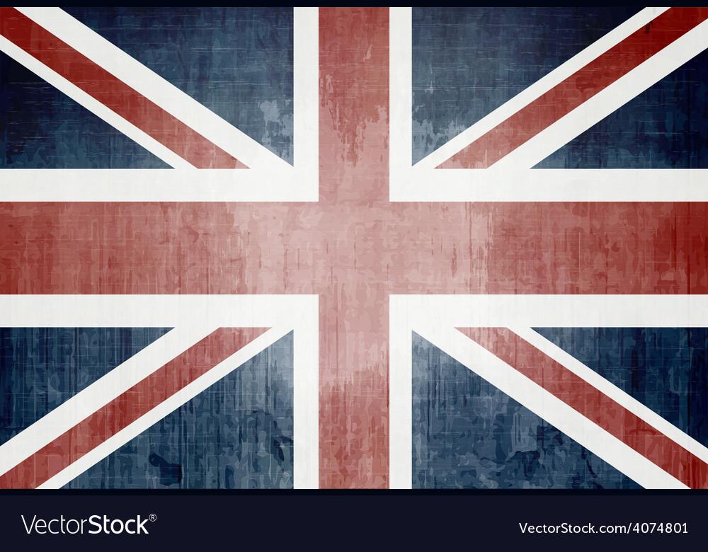 Grunge uk flag vector   Price: 1 Credit (USD $1)