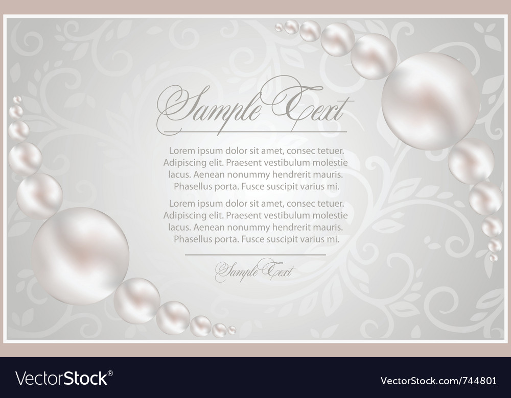 Realistic pearls vector | Price: 1 Credit (USD $1)