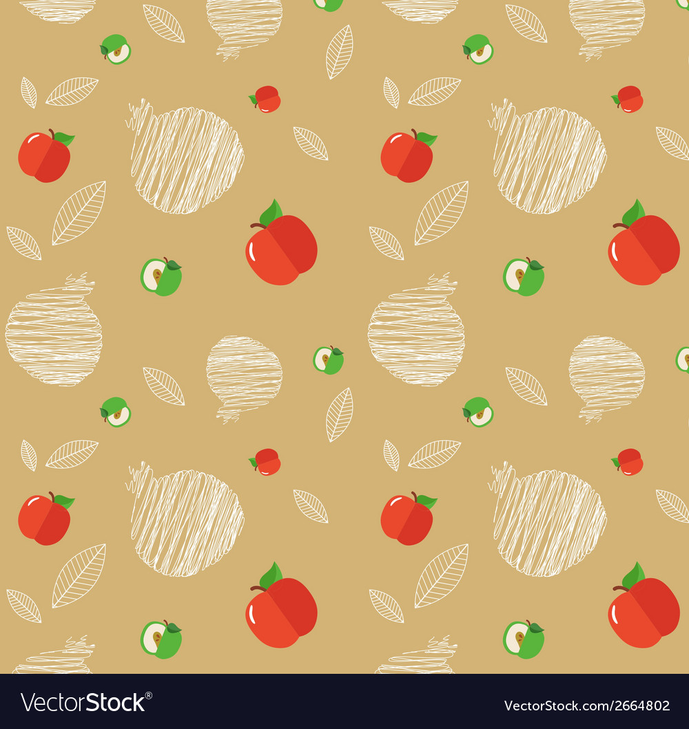 Rosh hashanah background with pomegranates and vector | Price: 1 Credit (USD $1)