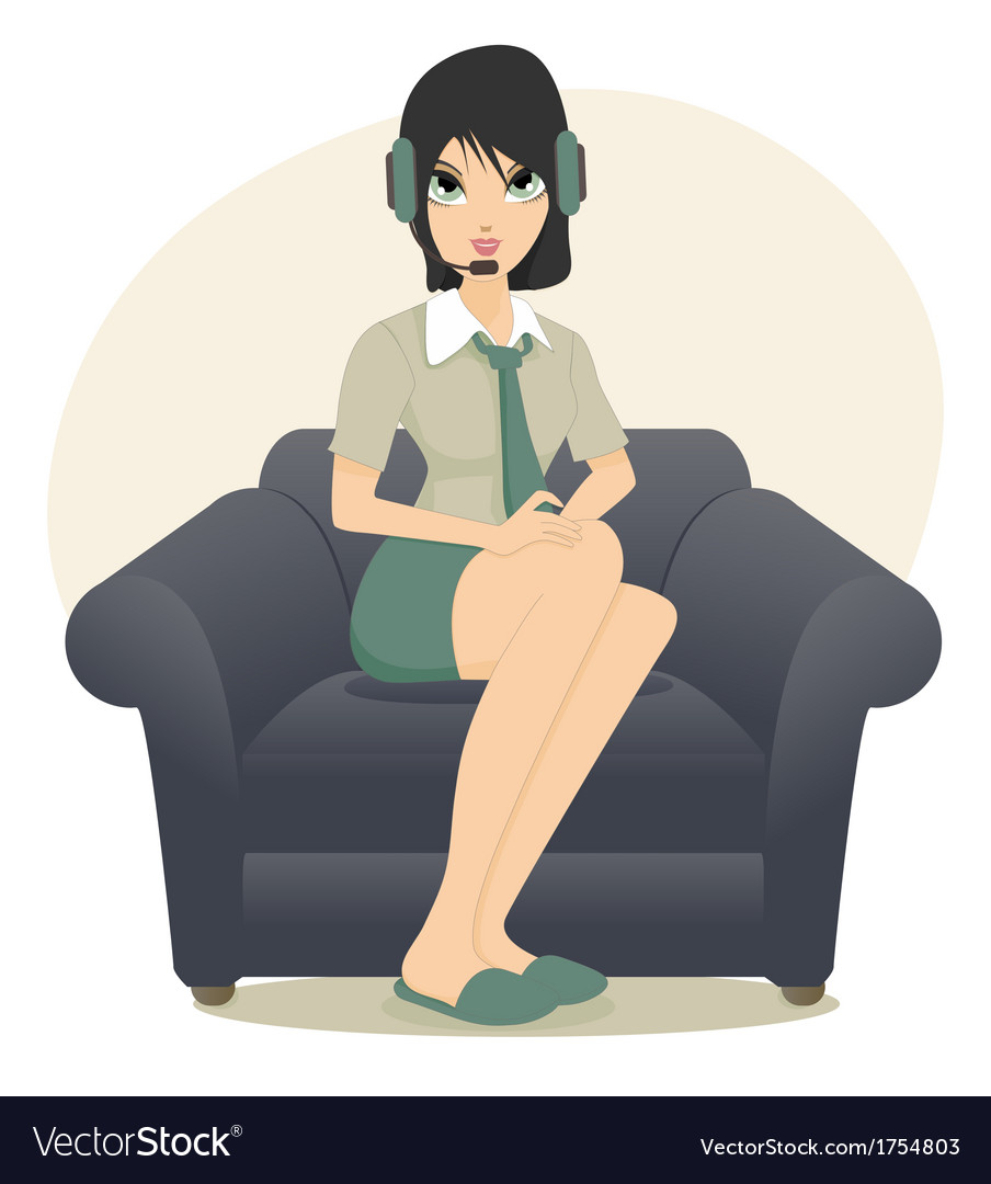 Call center employees vector | Price: 1 Credit (USD $1)