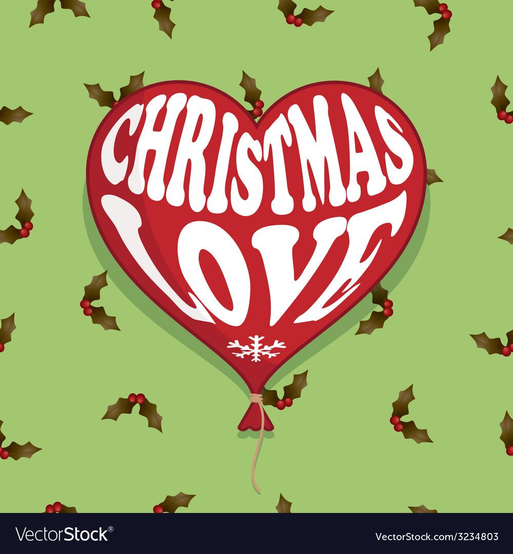 Christmas balloon vector | Price: 1 Credit (USD $1)