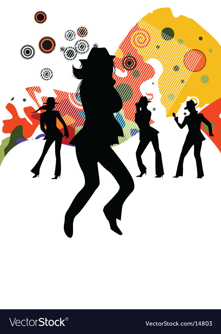 Sexy party people vector | Price: 1 Credit (USD $1)