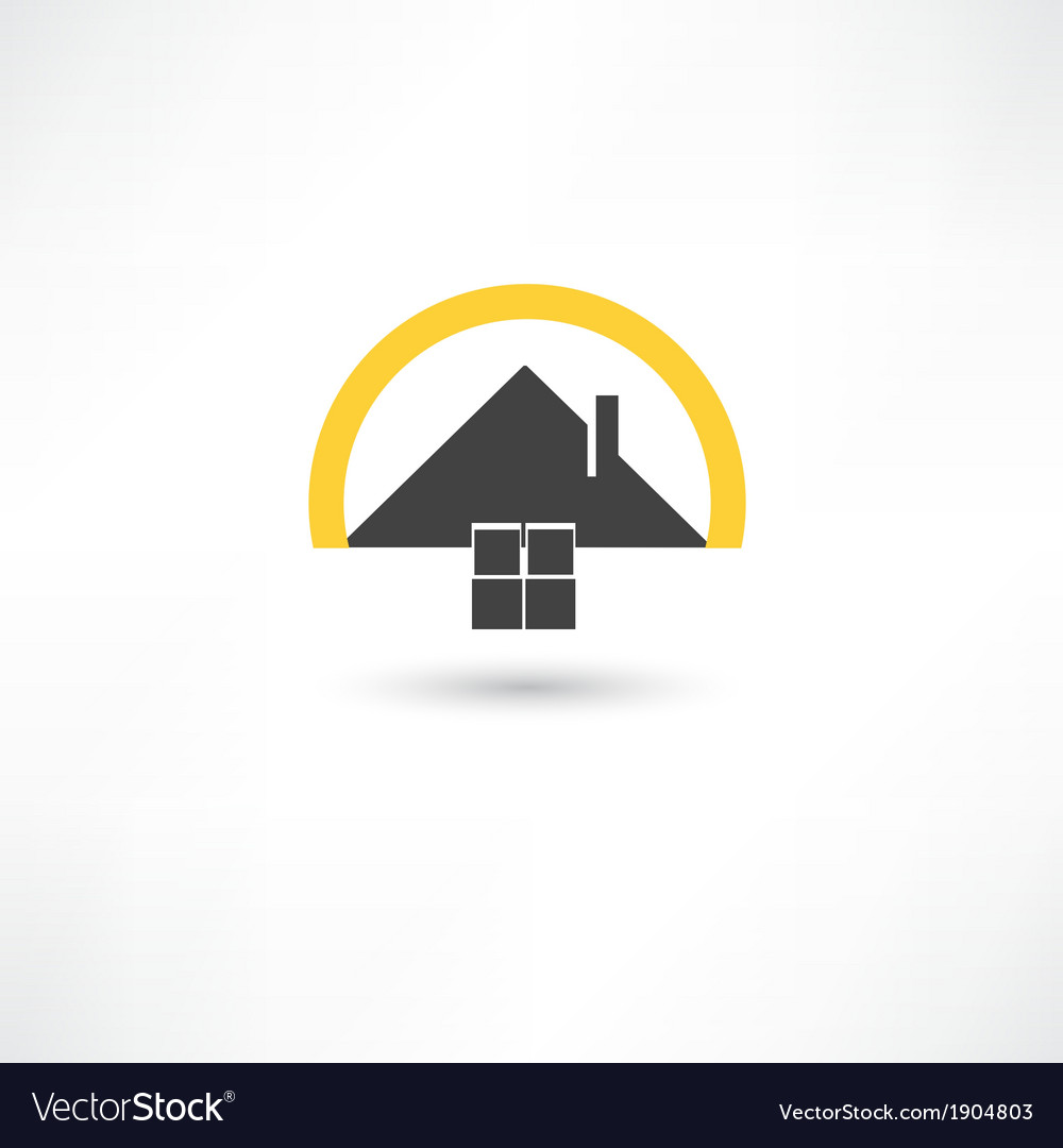 Simple house vector | Price: 1 Credit (USD $1)