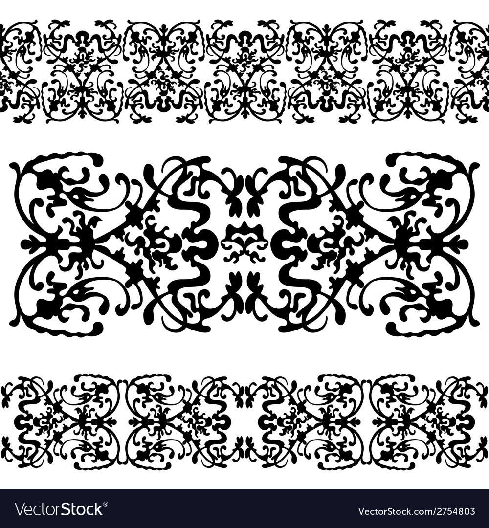 Swirling decorative pattern vector | Price: 1 Credit (USD $1)
