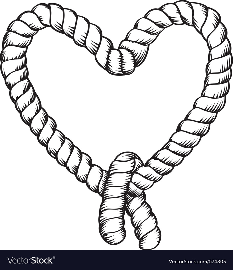 Tied rope vector | Price: 1 Credit (USD $1)