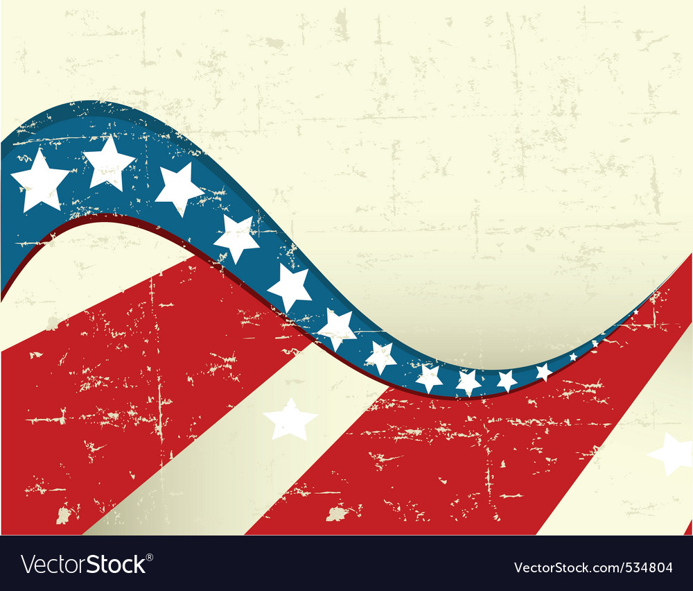Illustration of grange patriotic background vector | Price: 1 Credit (USD $1)