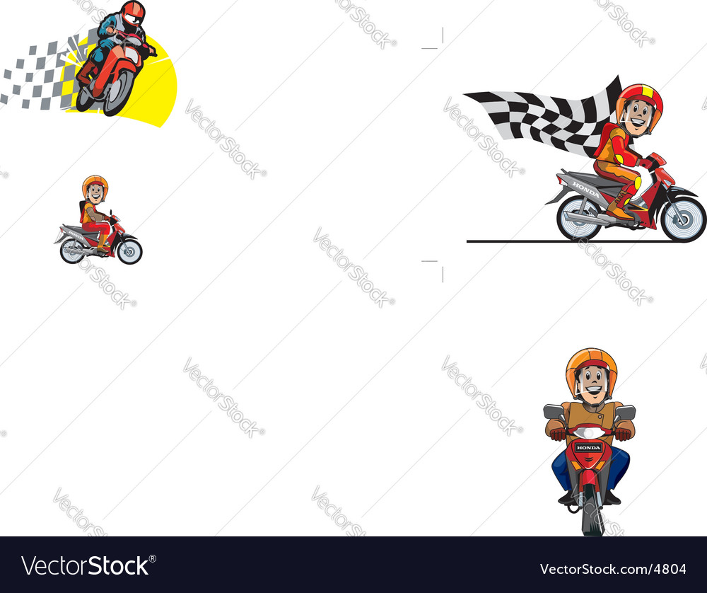 Racer vector | Price: 3 Credit (USD $3)